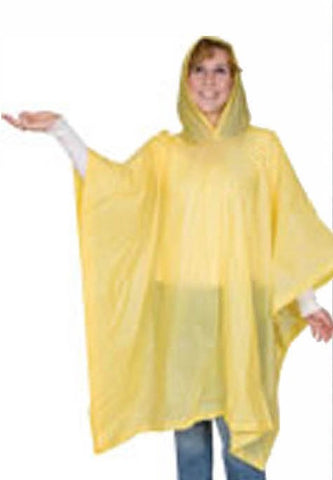 Emergency Rain Ponchos - Wholesale