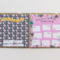 Special Edition: Golden Blossom Memory Book