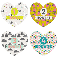 Little Love Monthly Stickers