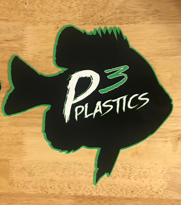 P3 Plastics Bluegill Decal