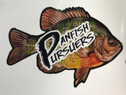 "Panfish Pursuers 4"" x 3"" Weatherproof Decal"