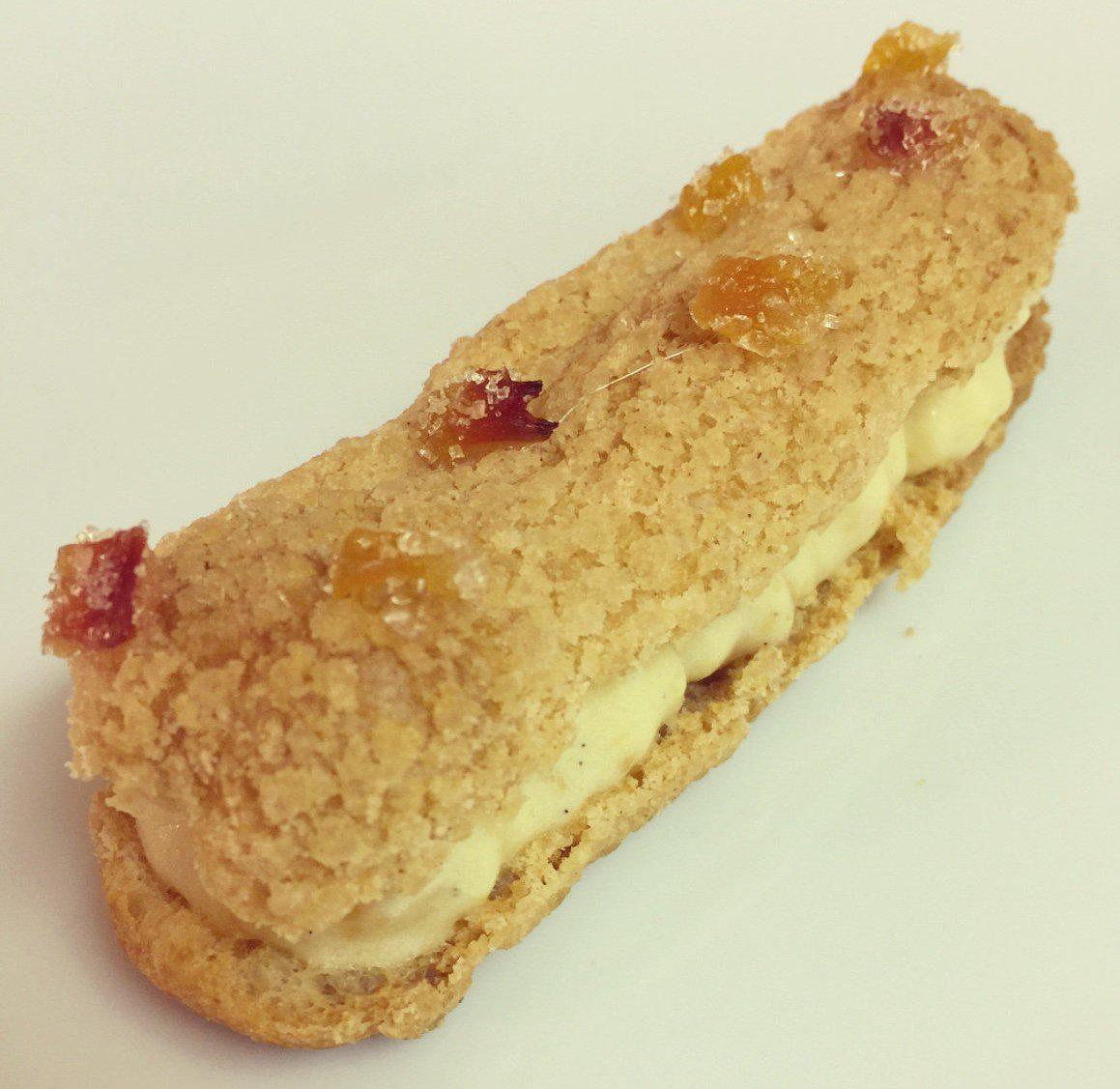 "Recipe: Eclair - The King's ""Candied"" Peach"