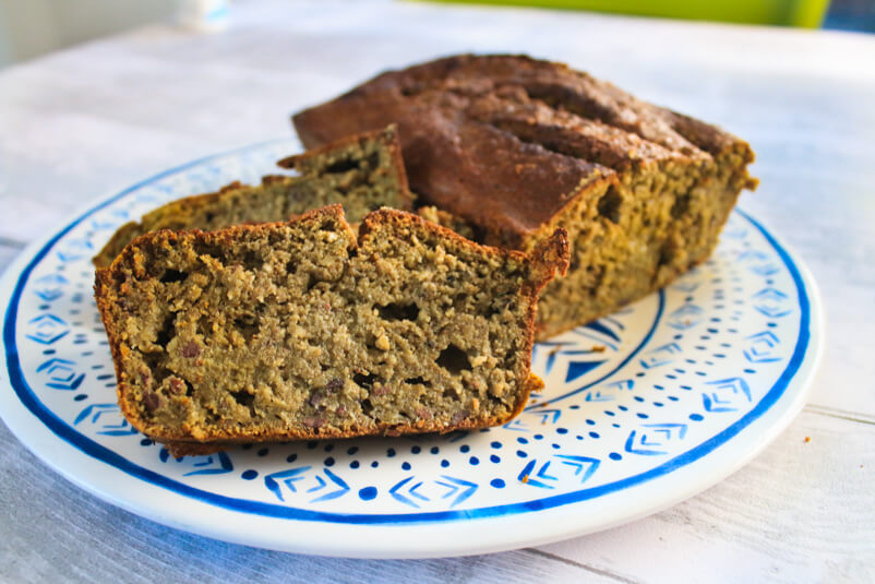 Matcha Green Tea Banana Bread - Gluten Free!