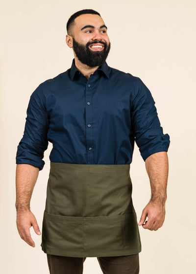 Bistro Half Apron Cotton Duck
