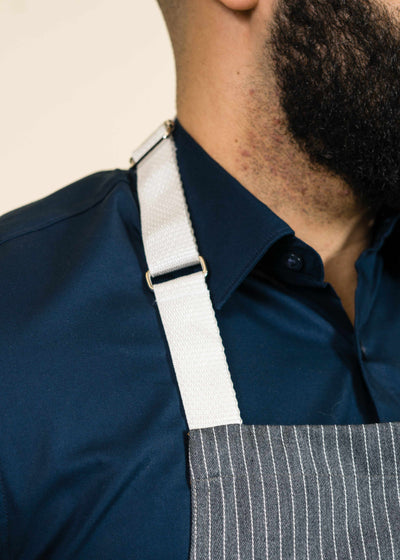 Short Full Apron Conductor Gray