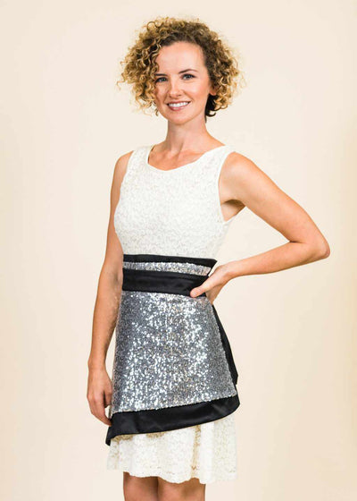 Angel Sequin Apron