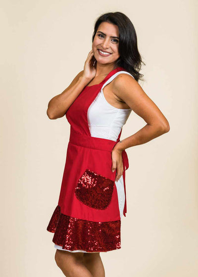 Roxy Sequin Apron