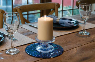 silicone candle holder