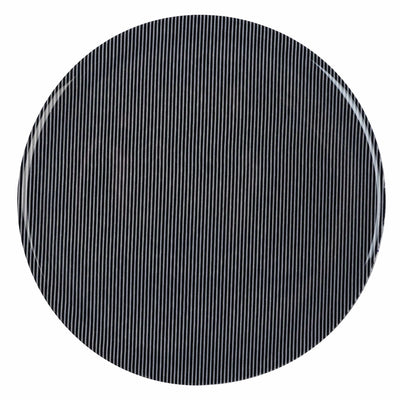 trivet hot pad, black fabric