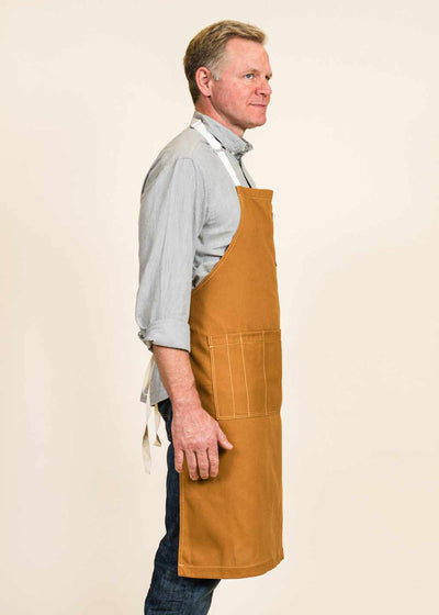 Full Apron in Cotton Duck