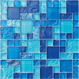 Bahamas Light Blue blend - Pool Tile - Tiles and Deco
