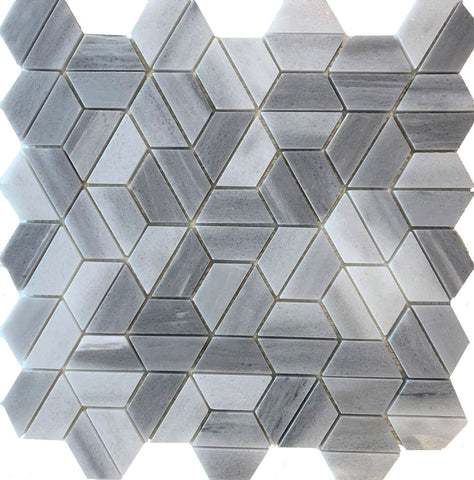 Crypto Hexagon Marble - Tiles and Deco