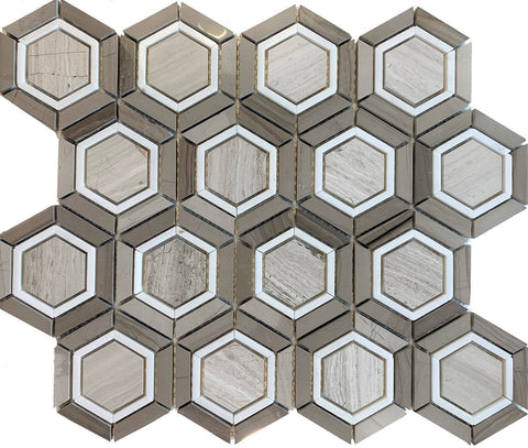 Hexagon Agata - Tiles and Deco