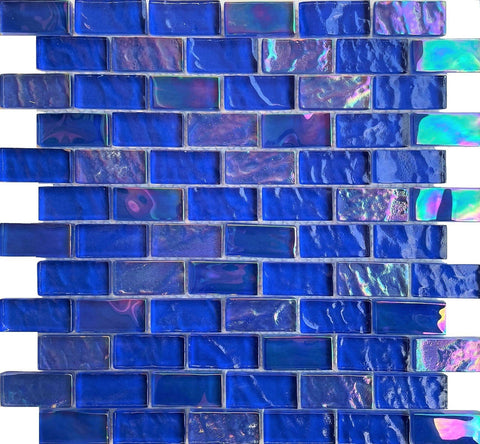 Cayman Cobalt Blue 1x2 - Pool Tile - Tiles and Deco