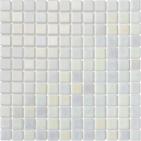 PLATINUM PEARL 1X1 Pool Tile - Tiles and Deco