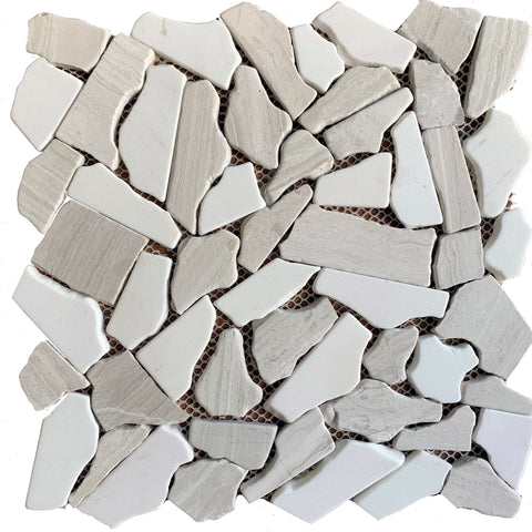 Rivera Pebble Arena Mix - Tiles and Deco