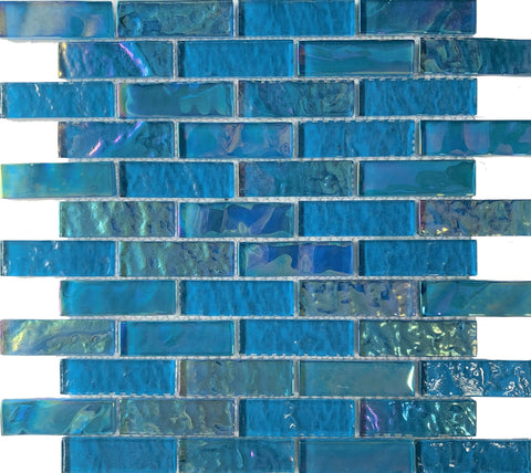 Nautical Turquoise 1x3 - Tiles and Deco