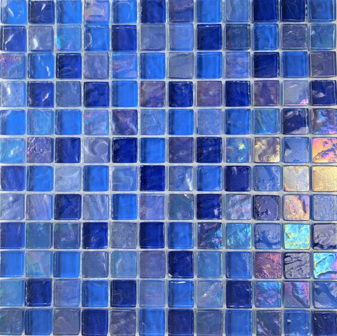 Volcanic Blue 1x1 - Pool Tile - Tiles and Deco