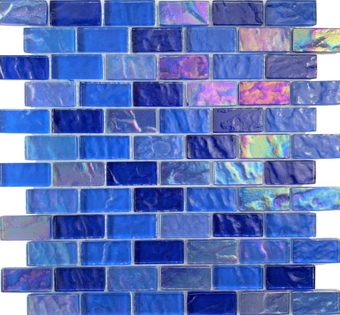 Volcanic Blue 1x2 - Pool Tile - Tiles and Deco