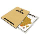 Travelogue Notebooks with Scratch Map - Journal - TiltedHead