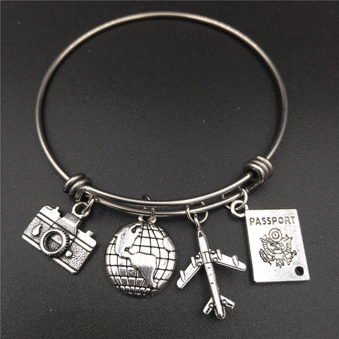 Stainless Steel Bracelet For Travellers - Bracelet - TiltedHead