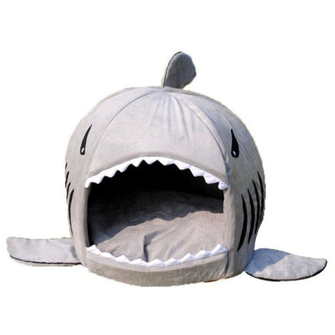Shark Shaped collapsible Indoor Pet Bed