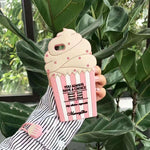 3D Ice Cream Case with Strap for iPhone - Phone Cases - TiltedHead
