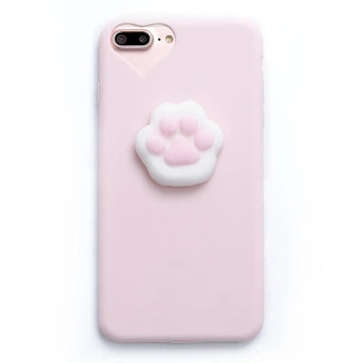 3D Cute Soft Silicone Squishy Toy Case for iPhone - Phone Cases - TiltedHead