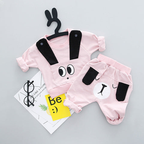 Cartoon T-Shirt and Pant Set