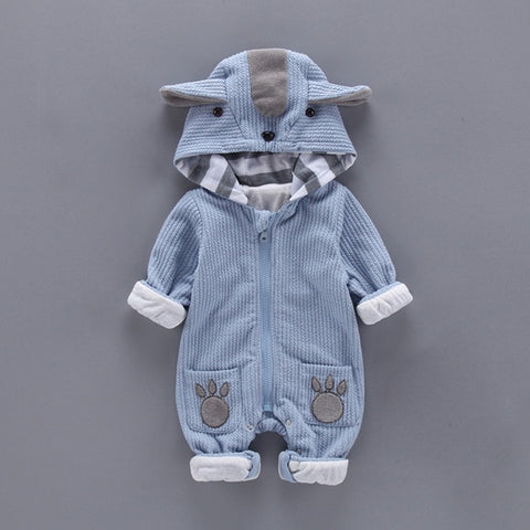 Cute Animal Pattern Jumpsuits for Babies