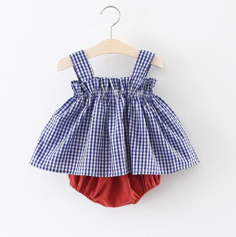 Baby Girls Summer Clothes Set