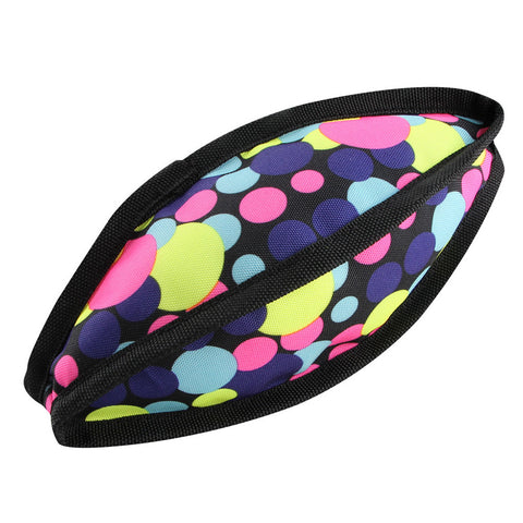 Colorful Rugby Shape Squeaky Toy