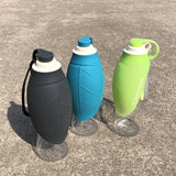 Portable Plastic Feeding Water Bottle