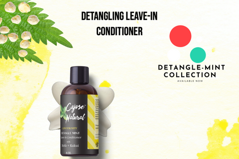 Detangling Leave-In Conditioner with Nettle + Kukui