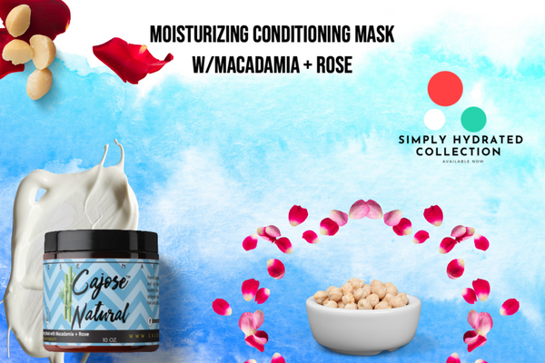 Moisturizing Conditioning Mask with Macadamia + Rose