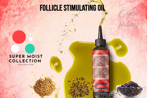 Follicle Stimulating Oil with Lavender + Neem