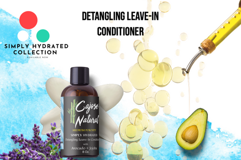 Detangling Leave-In Conditioner with Avocado + Jojoba