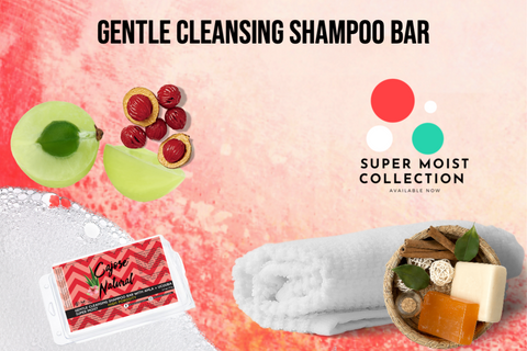 Gentle Cleansing Shampoo Bar with Amla + Ucuuba