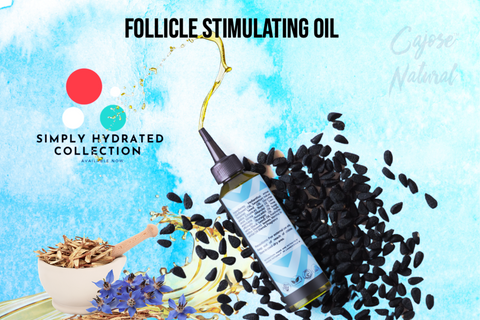 Follicle Stimulating Oil with Rosemary + Clary Sage