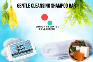 Gentle Cleansing Shampoo with Tea Tree + Ylang Ylang
