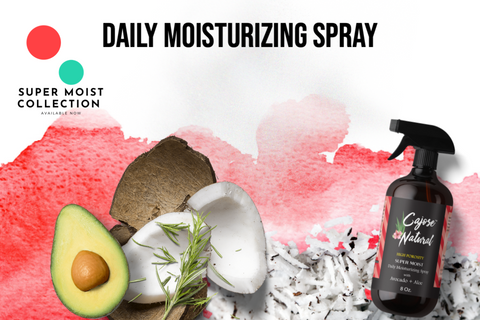 Daily Moisturizing Spray with Avocado + Aloe