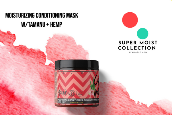 Moisturizing Conditioning Mask with Tamanu + Hemp