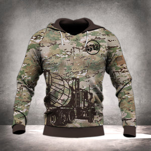 CONCRETE FINISHER CAMO HOODIE MTP