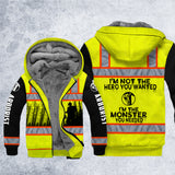DH ARBORIST MONSTER SAFETY HOODIE ALL OVER PRINT