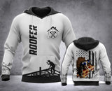 Roofer Flag 3D all over printed hoodie WHJ
