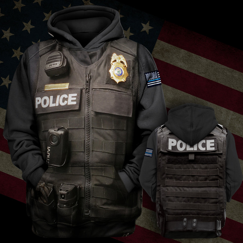 Police Hoodie Limited Edition