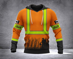 logger hoodie canada 3d lmt