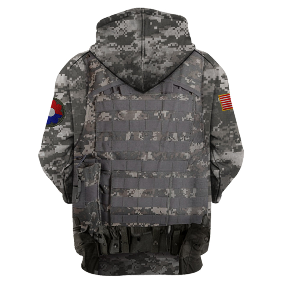 9th Infantry Division Hoodie