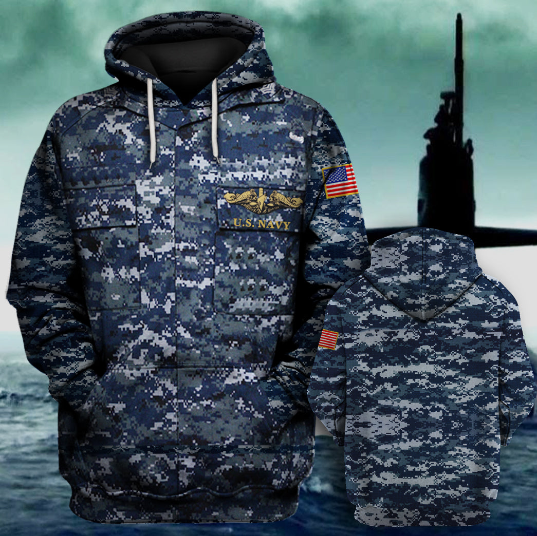 Submarines United States Navy Hoodie