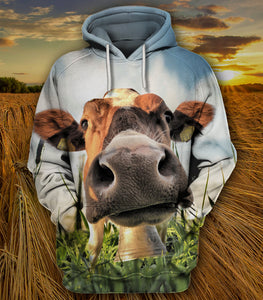 COW FACE HOODIE LIMITED EDITION